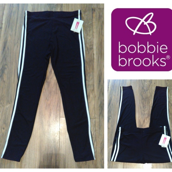 f08d4d5db9d5e7 Bobbie Brooks Pants | Nwt Yoga Sz M Leggings Black | Poshmark